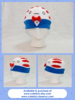 Peppermint Butler Hat by cutekick