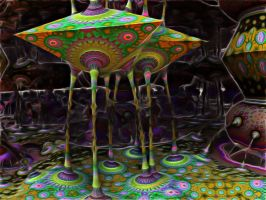 Painting strange fractals by PhotoComix2