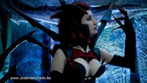 Elise Cosplay. League of Legends. by MorganaCosplay