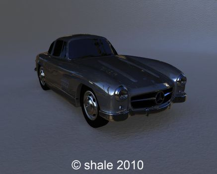 1954 Mercedes 300SL Gullwing 2 by shale1