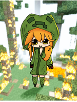 Cupa the Creeper [Request] by Zarcher