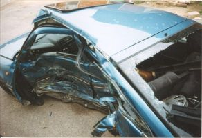 Fate of my 1st car - number 1 by bisi