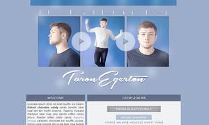 Ordered Taron Egerton layout by Efruse