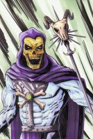 Skeletor by kentarcher
