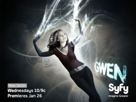 Buffy + Angel Wallpaper Poster: Gwen by roaditr