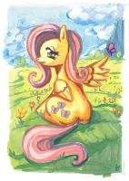 one more fluttershy by lexx2dot0