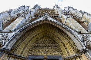 Westminster Abbey Arch by LordMajestros