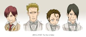 BACCANO characters part 6 by NicoleCover
