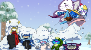 PKMN Crossing: SNOW LONG, SUCKAS by Lhumina