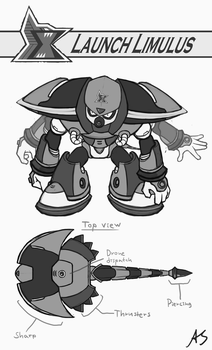 Launch Limulus doodle by Alex-the-Irregular