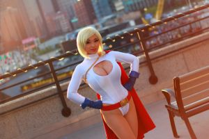 Boston Comic Con 2013 - Powergirl 6 by VideoGameStupid