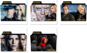 Homeland Folder Icons by nellanel