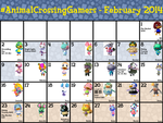 #ACG Calendar for February 2014 by TheStaticStalker