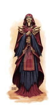 Forgotten Pharoh Cultist by BryanSyme