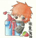 Ichigo has a present for you :D by IchigoShiro