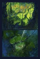 Kakapo Concept Paintings by firecloud