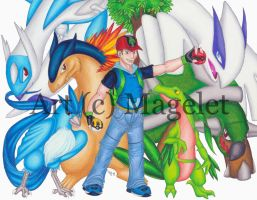 Shane Pokemon Trainer Fan Character by Magelet