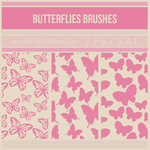 [For SAI] Butterflies Brushes by ASlovesLisa