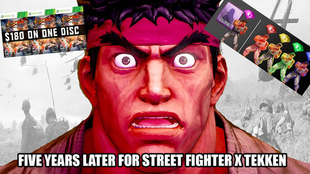 Street Fighter: Ryu Flashback by alienhominid2000