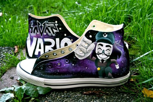 Vario Shoes - Commissioned Work by hipstergalaxyswag
