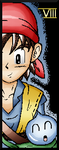 Miiverse Art: Dragon Quest Hero VIII by DragonQuestHero