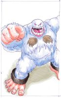 Darkstalkers Sasquatch by sharknob