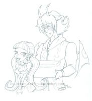 A story about Alex and Ula'd by Hasana-chan