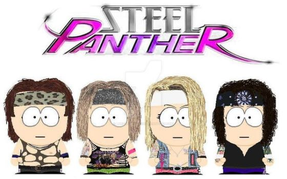 South Park Steel Panther by lord-nightbreed