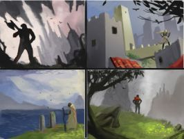 Environment thumbnail study by i-KEL