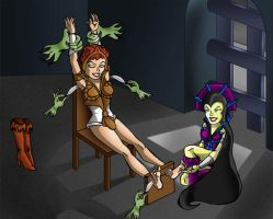 Teela Tickled by SuicideDiDArt