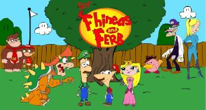 Brawl in the Fhineas and Ferb by Pablosk8