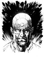 Walter White by csmithart