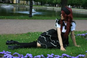 Gothic Lolita 14 by Kechake-stock