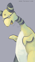 Amphy with Glasses by Ankoku-Flare