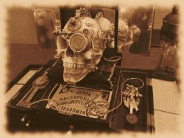 ConTemporal 2014: Skull Contraption by JLHilton