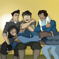 Korra cast photo by Bleu-Ninja