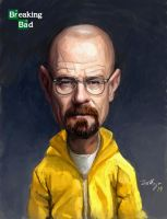 Walter white by Migska