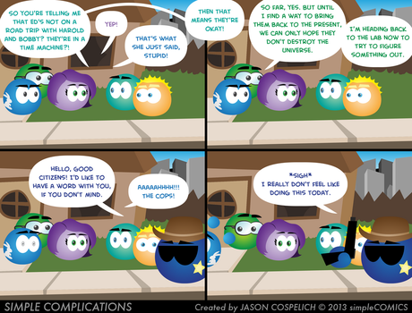 SC597 - Murder in Circle City 12 by simpleCOMICS