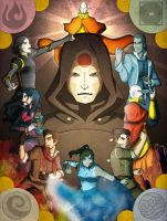The Legend of Korra by Sakura-Rose12