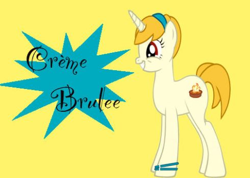 Creme Brulee by snickersnap