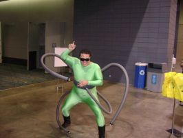 Doctor octopus cosplay by Robot001