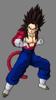 Vegetto SSJ4, Fake Colors by hsvhrt