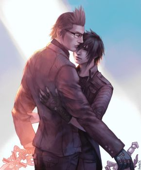 Ignis and Noctis by Koettboid