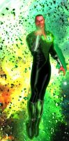 Pin-up - Sinestro GL by Vadlor