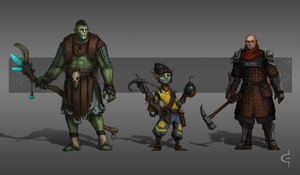 Adventurers 2 by corndoggy
