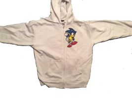 Fan Made Sonic The Hedgehog Hoodie by AngryHedgehogs