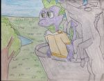 Mlp Spike Equestrian Dragon Prince by Siluntwolf