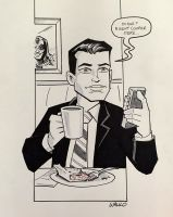 Dale Cooper NYCC 2015 by BillWalko