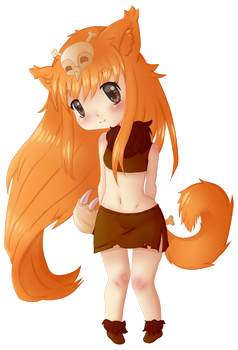 League of Legends - Gnar Chibi by GumiMonster