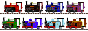 TVS Mountain Engine Liveries by TheblueV3